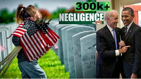 More than 300K veterans died as result of Obama Biden negligence