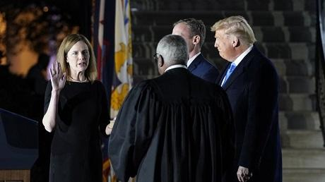 Amy Coney Barrett confirmed