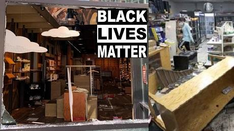 BLM Chicago justifies looting