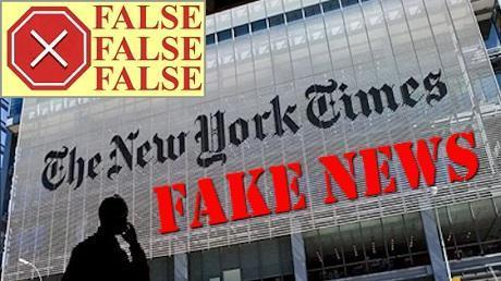 Fact checking NY Times Lies