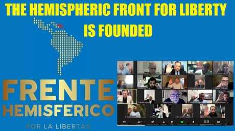 Hemispheric Front for Freedom is FOUNDED