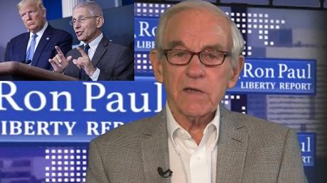 YouTube censors Ron Paul for questioning Fauci